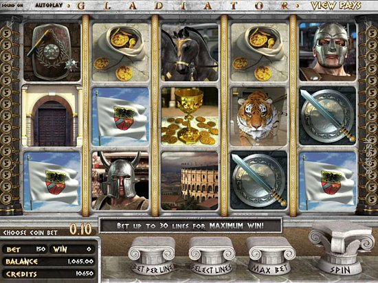 Be The Warrioer Of The Slot Machine Arena With Gladiator – Betsoft